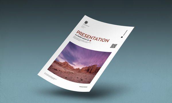 A4-Paper-Poster-Flyer-Mockup
